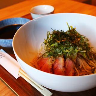 平日限定ランチ!「鴨つけ蕎麦」11:30~14:00