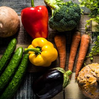 取材多数、全国の新鮮なお野菜大集合!採れたて料理が自慢♪