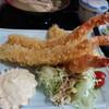 魚屋の寿司 東信 - 料理写真:ジャンボエビフライ定食です☆ 2017-1018訪問