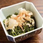 ちゅるり - めかぶポン酢 ¥280