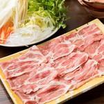 ちゅるり - 豚しゃぶ鍋