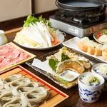 ちゅるり - 豚しゃぶ鍋コース おひとり2700円
