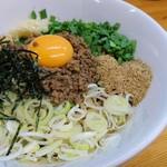 麺屋ガテン - 台湾MAZEそば 790円
