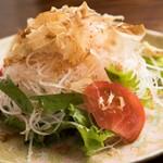 ちゅるり - 梅つまシャキシャキサラダ ¥580