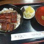 浅野屋 - 料理写真:うなぎ丼 吸物付 特上(二重) 2,500円