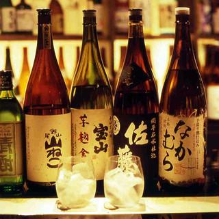 九州が誇る地酒をはじめ、厳選した銘酒を豊富に揃えています!