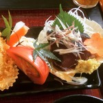 食彩やクレソン - 刺身(カツオ)