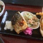 食彩やクレソン - 焼き魚(サバ)