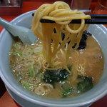 山岡家 - 太麺ストレート