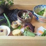 フレンチレストラン 蔦の葉 - 和ランチ ¥2940 前皿