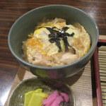 めん処譽紫 - 親子丼