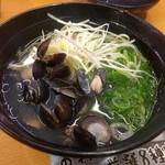スシロー - 料理写真:2017.10あご出汁塩ラーメン330円+税