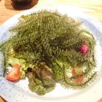 龍潭 - 海ブドウのサラダ