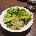 Sumiyakiandowainrizaburou - ランチのサラダ