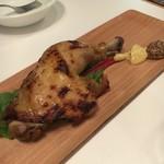 ピッツェリア バール ナポリ - 鶏モモ肉のコンフィ 880円