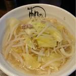 麺屋 帆のる - 野菜たっぷりタンメン