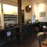 gallery cafe NUNO  - 内観