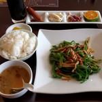 りんご飯店 - 青椒肉絲(700円)