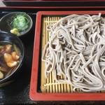 そば処大雪 - 鶏牛蒡800円