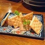ずず ハナレヤ - クリームチーズの味噌和え