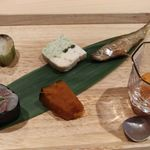 鮨 五徳 - 前菜いろいろ