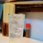 鹿島屋 - レモンサワー:だいぶ濃いめ
