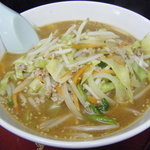 雁腹 - 料理写真:野菜味噌ラーメン