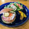 ブランジュリ ノアン - 料理写真:「ハンバーガープレート」(1,600円+税)。