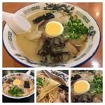 一龍軒 - 7月もチャーシュー麺