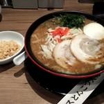 一風堂 - ソースとんこつ 850円 2017/10/18