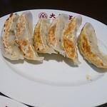 大阪王将 - 大山鶏の鶏しそ餃子