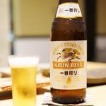 御幸町 田がわ - ビールから