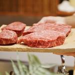 御幸町 田がわ - 常陸牛のランプ肉