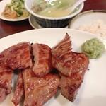 牛タン焼専門店 司 - 牛タン定食が腹ペコにはペロリ!