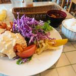洋食Mogu - エビフライセット