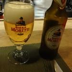 トラットリア フィオーレ - イタリア産ビール