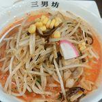 濃厚タンメン三男坊 - 辛スープ野菜増し