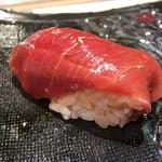 第三春美鮨 - シビマグロ 148kg 背 血(合い)ぎしの中トロ 熟成7日目 一本釣り 青森県大間