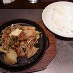 鉄板洋食 だいじゅ - チキンステーキ