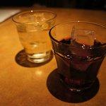 男のイタリアン屋台 suEzou - ワインとカシス