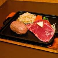 モーモー亭 - 人気No、1!人気のハンバーグとやわらかステーキを同時に!