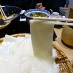 五代目 花山うどん - 花山御膳1,250円(ざる鬼ひも川(大盛無料)+小天丼)