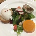 東京パリ食堂 - 前菜盛り合わせ