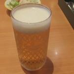 サイゼリヤ - グラスビール