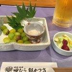 田むら 銀かつ亭 - 銀杏をツマミに一杯。