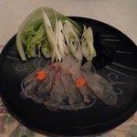 レストラン・バナナビーチ - 鯛のしゃぶしゃぶ