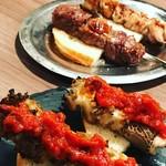 エボシ - 料理写真:ハチノスの串焼き