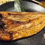 マルカン漁業部 海がき本店 - 真ほっけ一夜干し開き漁師造り焼き