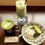 茶店×洋食 オリホン - 抹茶ラインナップ