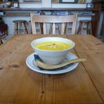 手作りパンカフェ・ピクニック - スープ